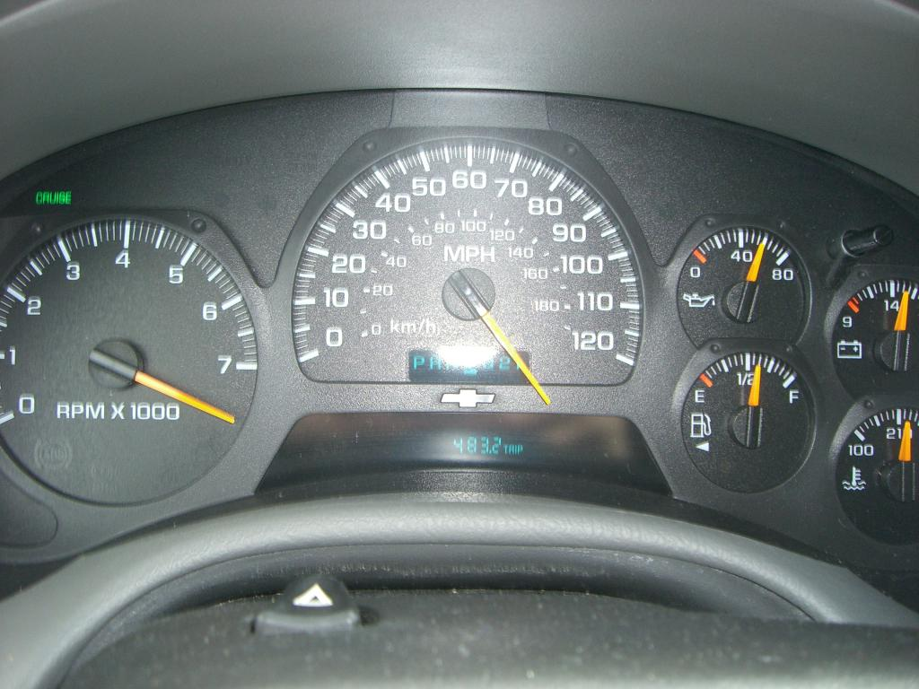 2004 Chevrolet Trailblazer Speedometer Stopped Working: 20 Complaints