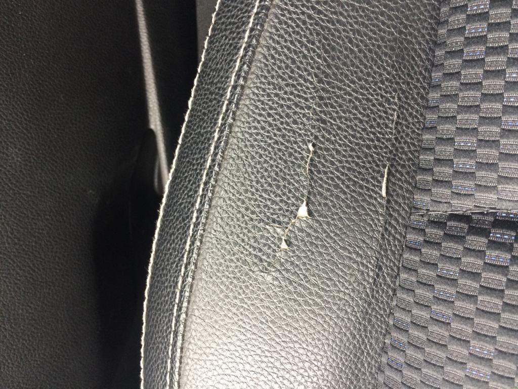2014 Subaru Forester Cracked Leather On Seat 1 Complaints