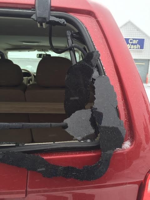 2010 Ford Escape Rear Window Exploded 40 Complaints