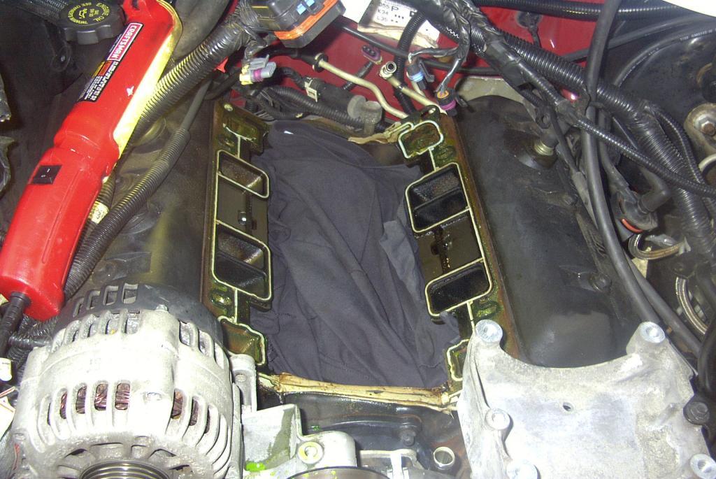 Intake Manifold Gasket Leak : Chevrolet s pickup plastic intake gaskets leak