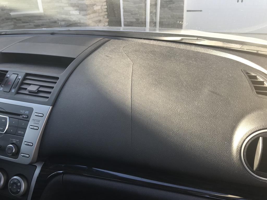 Signs Of Transmission Going Out >> 2010 Mazda MAZDA6 Cracked Dashboard: 1 Complaints