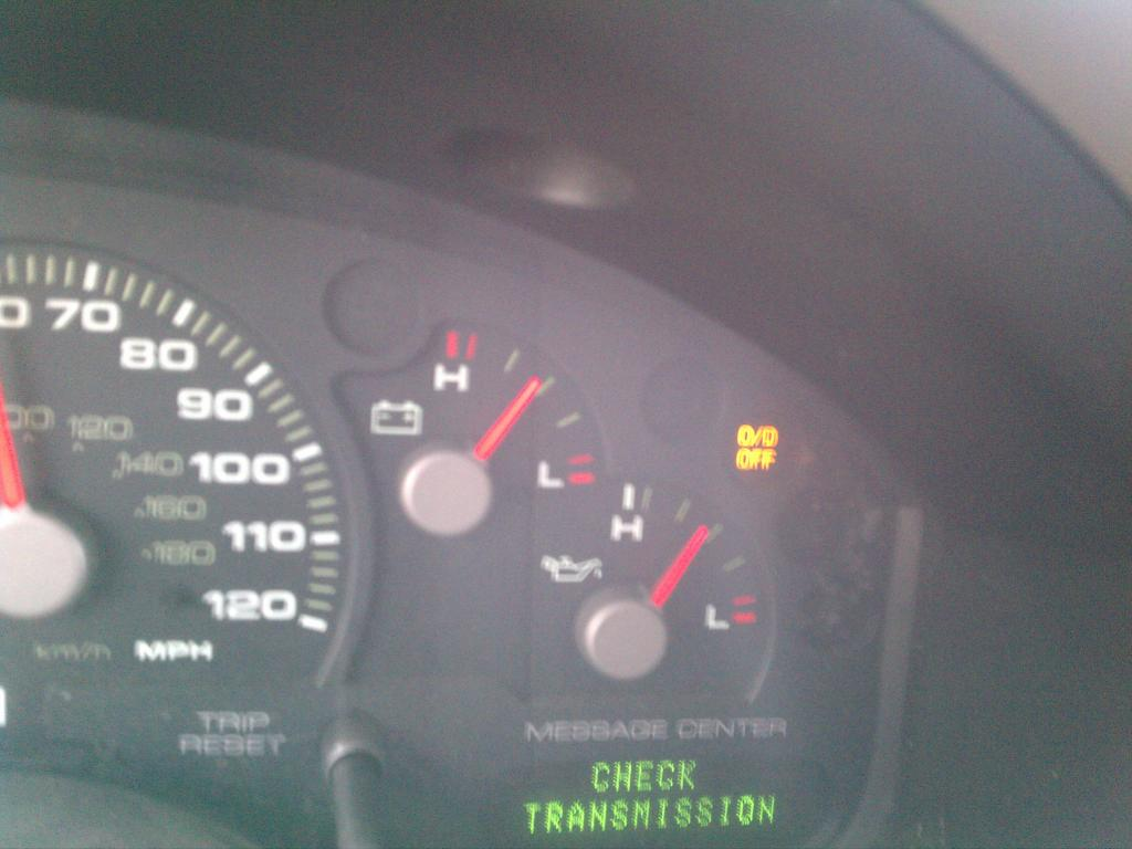 2000 Ford Explorer Check Engine Light Flashing