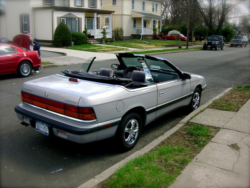1993 Chrysler Lebaron Transmission Failure 1 Complaints