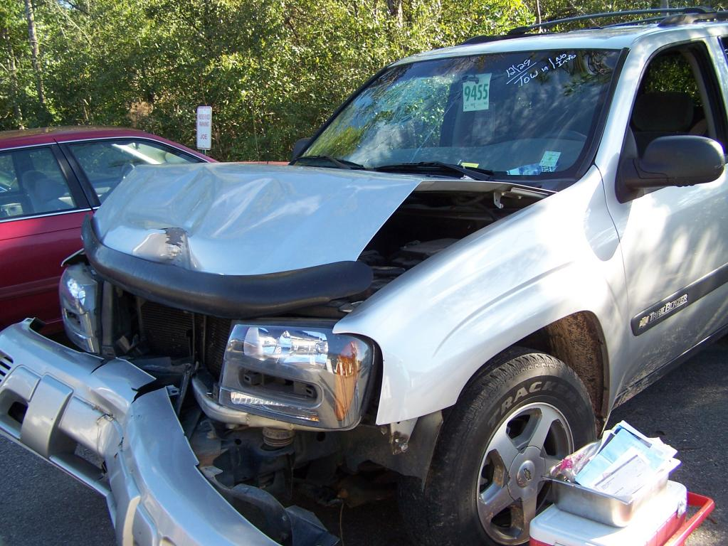 2005 Chevrolet Trailblazer Airbags Did Not Deploy In