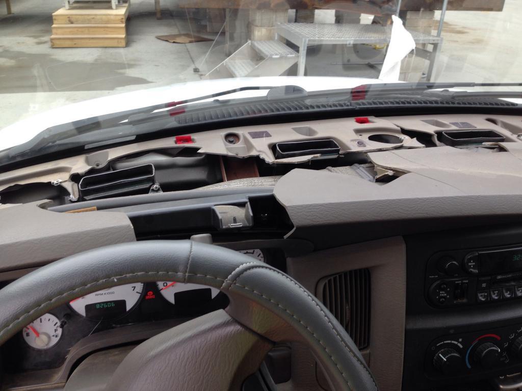 2003 Dodge Ram 3500 Cracked Dashboard 68 Complaints