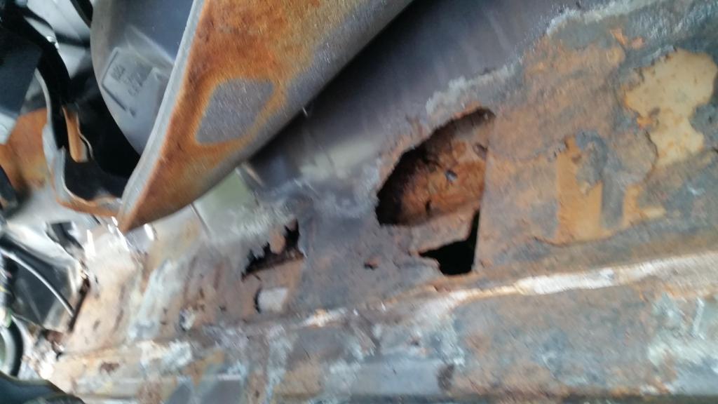 2008 Chevrolet Uplander Excessive Rust | CarComplaints com