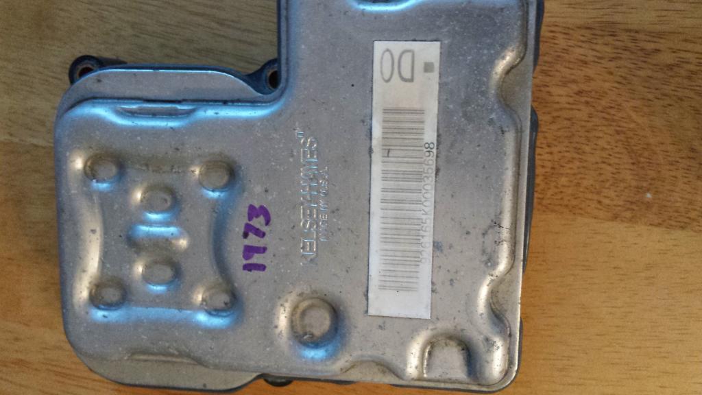 2003 Gmc Yukon Abs Control Module Failure 4 Complaints