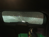 window spontaneously shattered