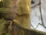 cracked torsion axle