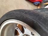 original tire sidewalls cracked