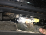 Air Bag Sensor Sensor Flashing Sensor Is Corroded