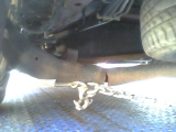 rear axle broke in half