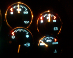 fuel gauge not working properly