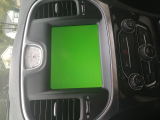 backup camera screen green/lines