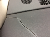 cracks in dashboard