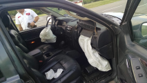 airbags deployed while driving