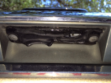 rear rubber door handle melted off