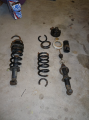 rear coil spring failure