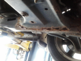 rusted out subframe