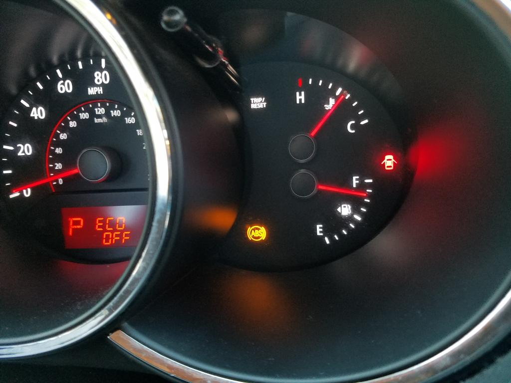 2013 Kia Sorento Abs Traction Control And Down Hill Assist Lights