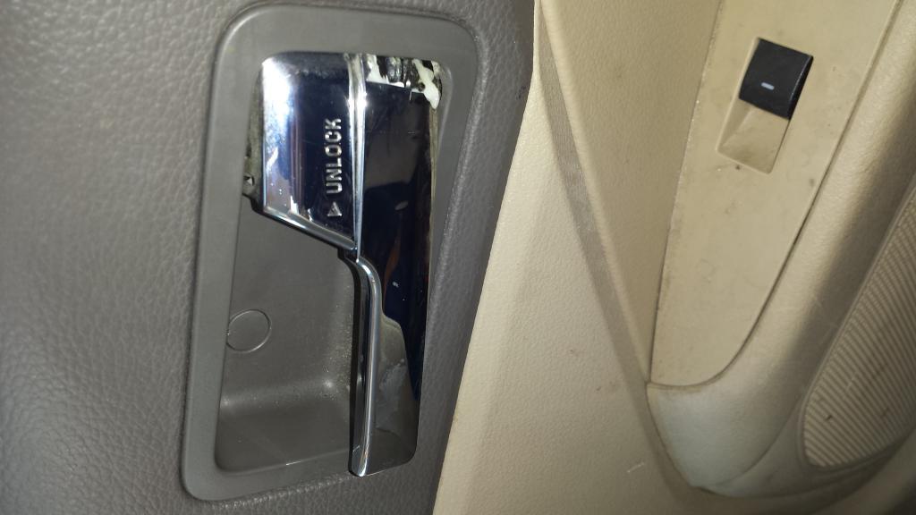 Ford Fusion Door Handle Recall >> 2007 Ford Fusion Door Handles Broken 10 Complaints