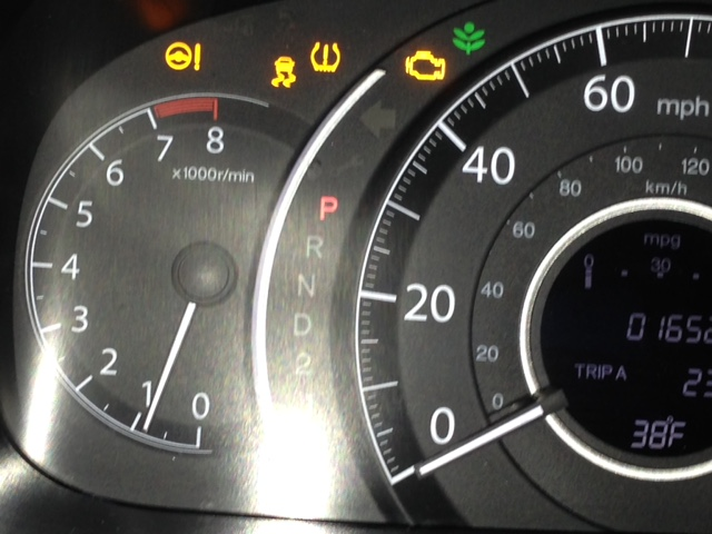 2014 Honda CR-V Spurious Warning Lights: 1 Complaints