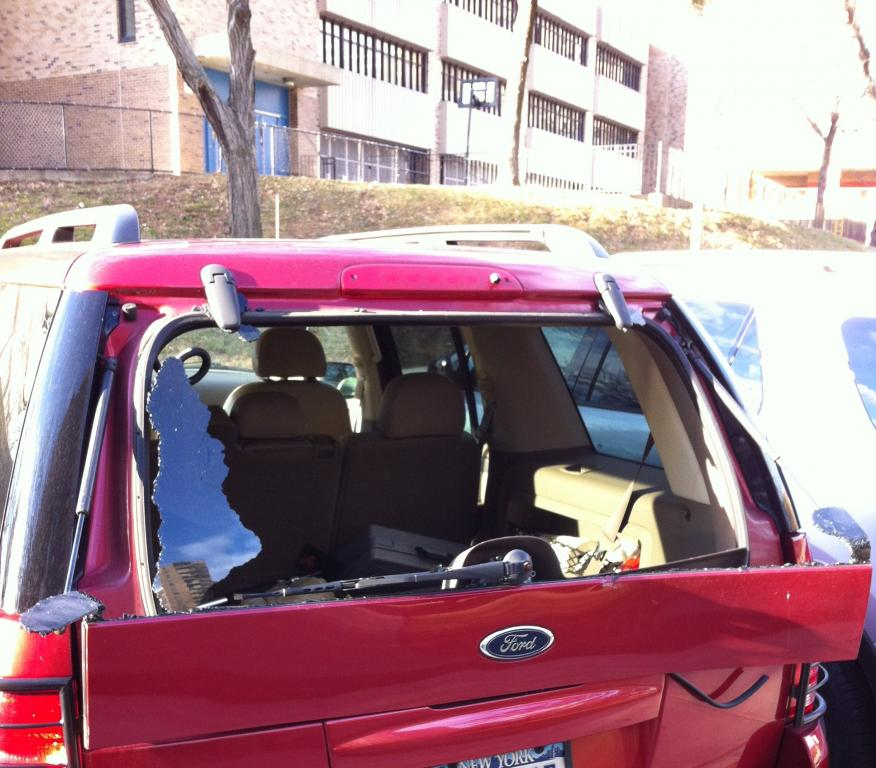 2004 Ford Explorer Rear Windshield Blew Up 13 Complaints