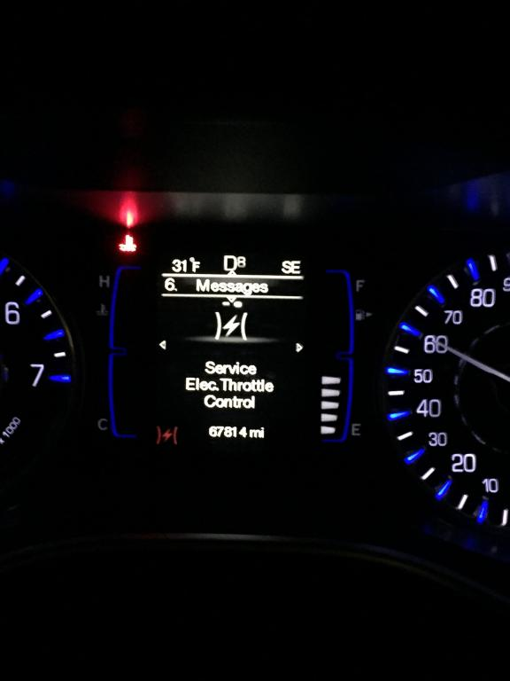 2015 Chrysler 200 Error Message Saying Engine Is Hot, But