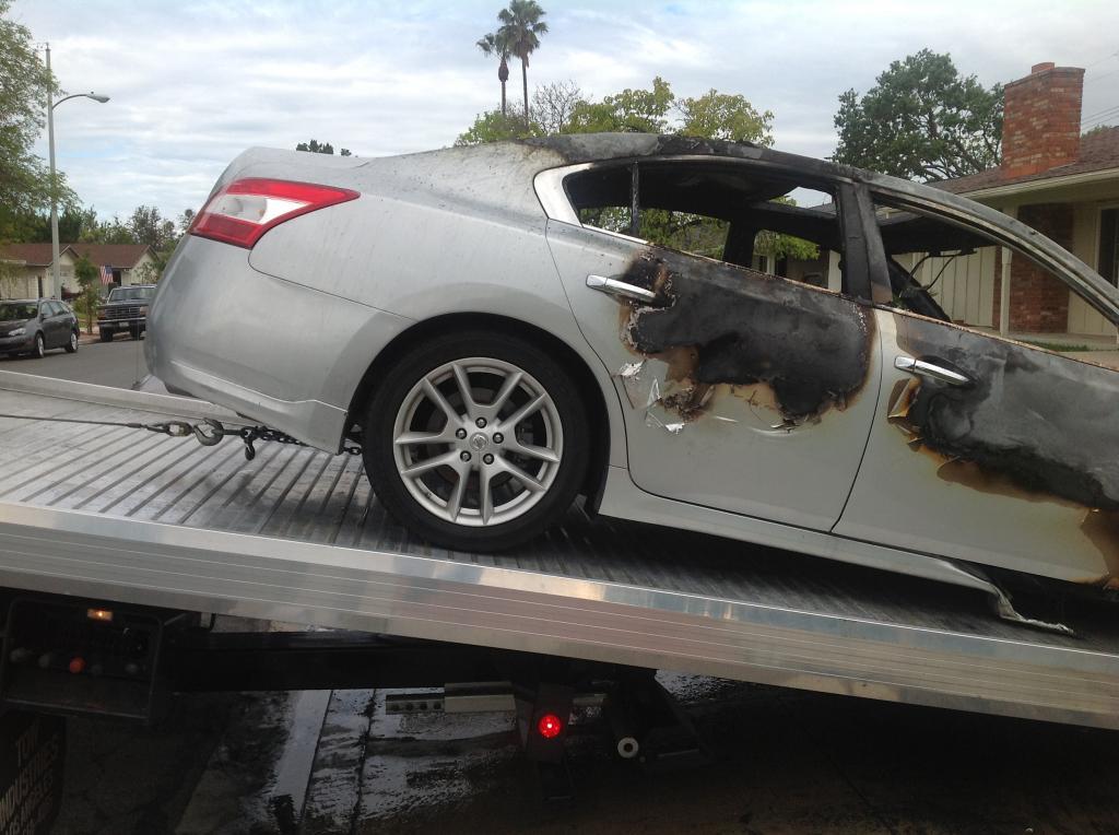 2009 Nissan Maxima Electrical Fire 1 Complaints