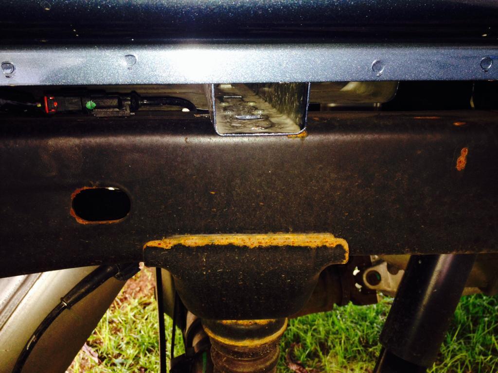 2014 Chevrolet Silverado 1500 Excessive Rust Corrosion On