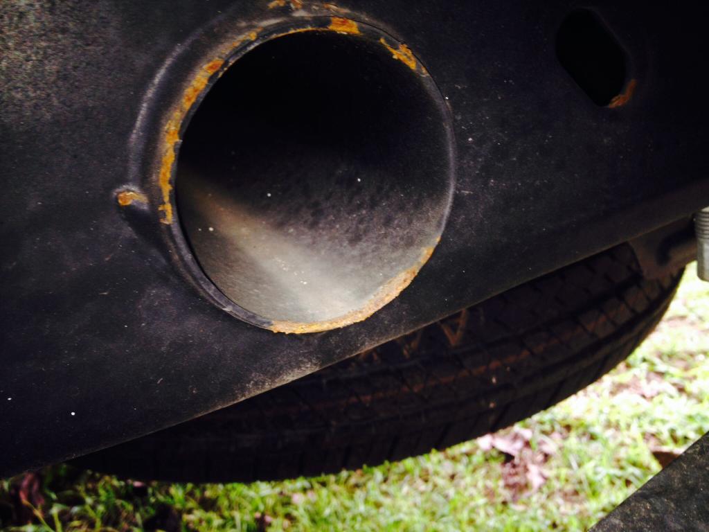 2014 Chevrolet Silverado 1500 Excessive Rust/Corrosion On