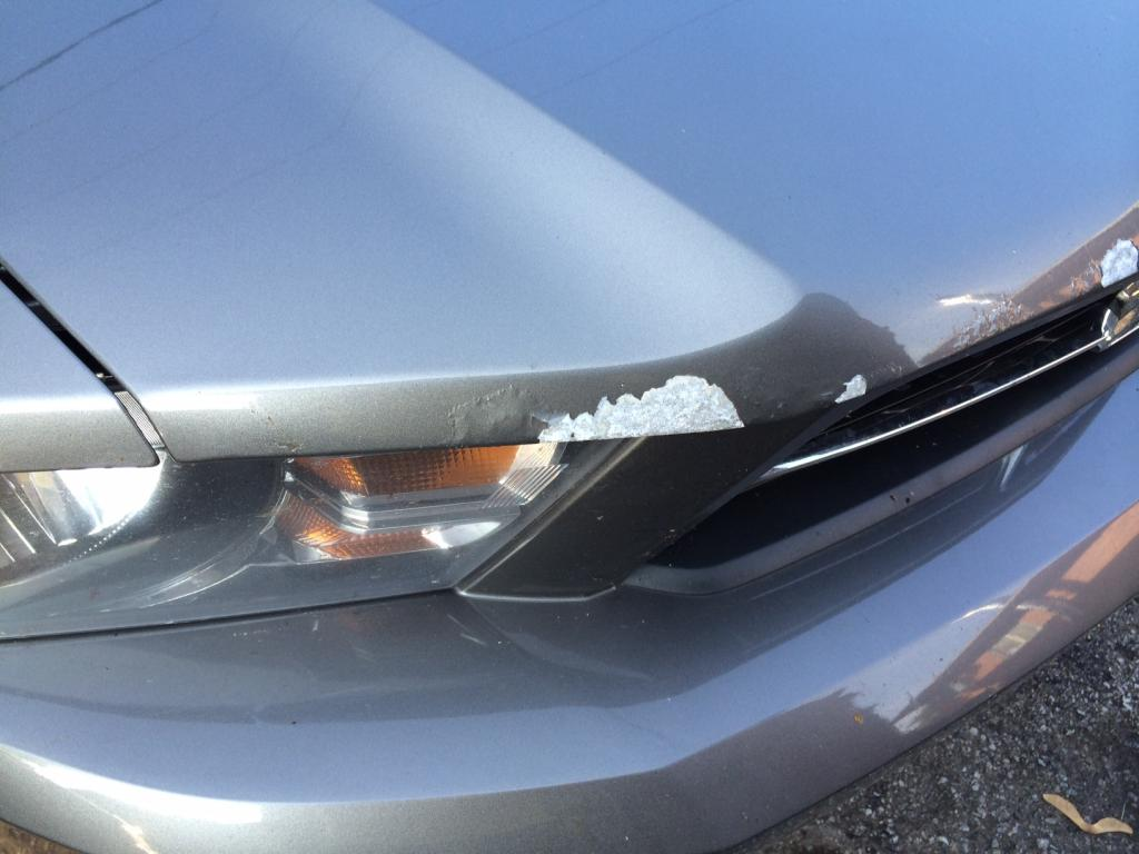 2011 Ford Mustang Paint Flaking Off Front End Of Hood