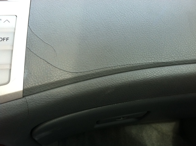 2006 Toyota Avalon Cracked Dashboard 35 Complaints