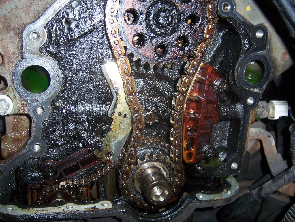Timing Chain Tensioner Break
