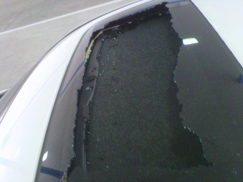 2010 Honda Accord Shattered-Exploded Sunroof: 5 Complaints