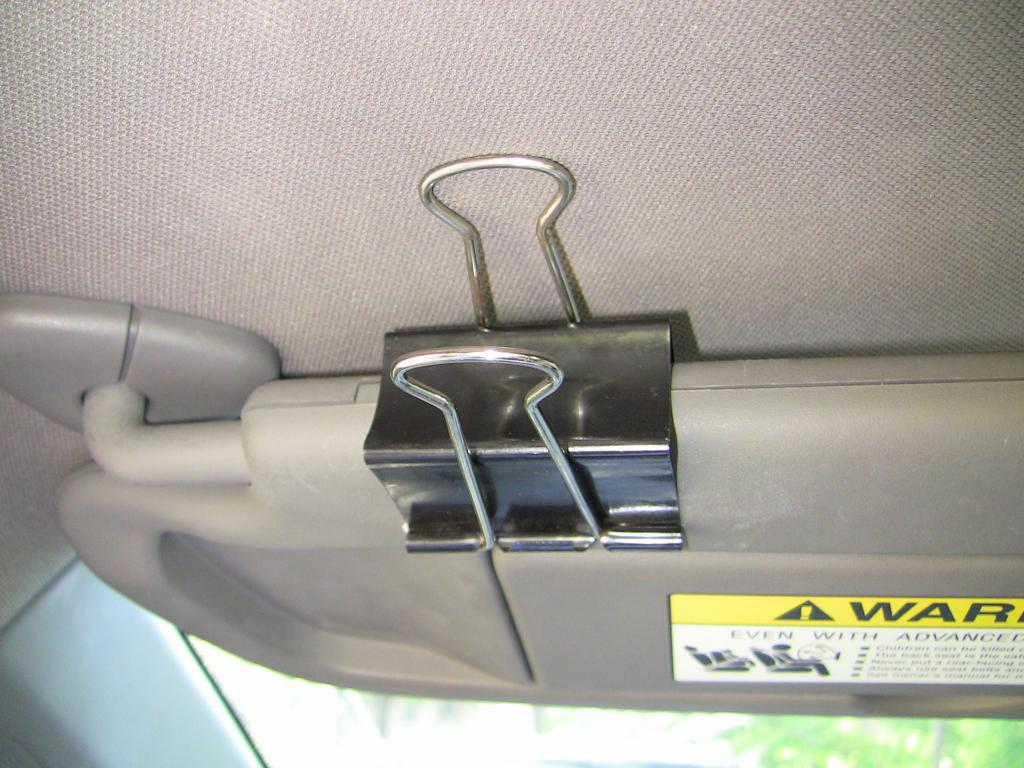 2007 honda civic sunvisor falls apart 70 complaints page 2. Black Bedroom Furniture Sets. Home Design Ideas