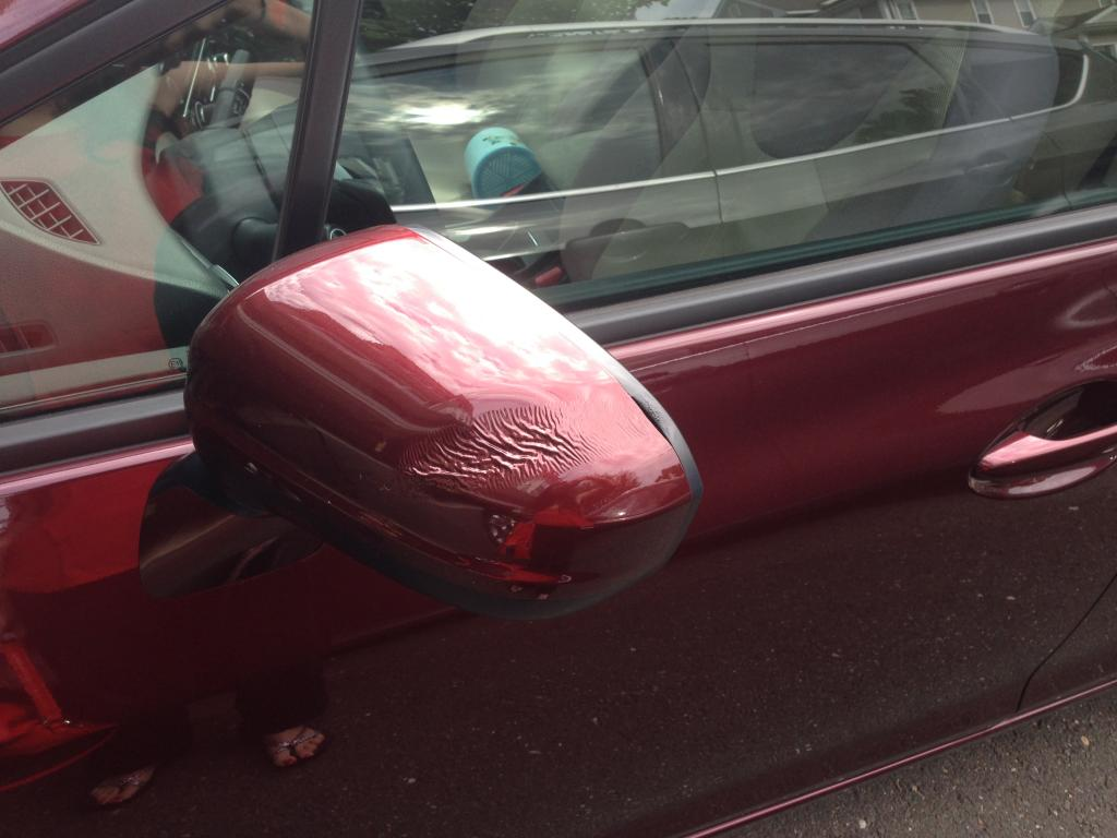 2014 Honda Civic Mirror Plastic Melted 1 Complaints