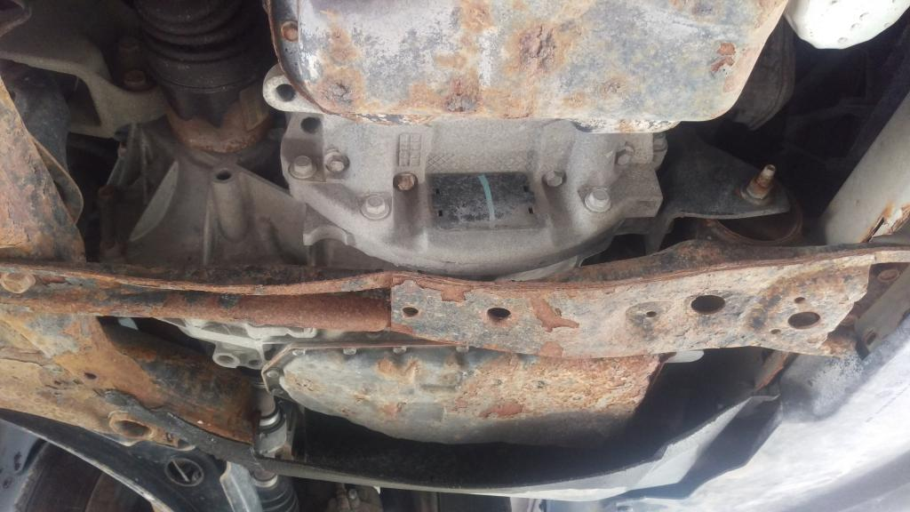 Entire Front End Suspension Failed ...