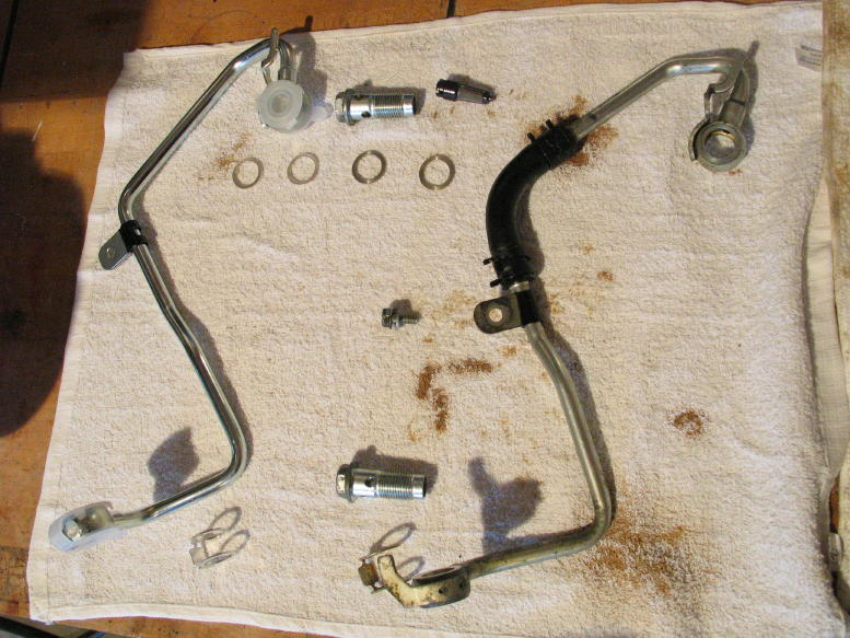 2009 Toyota Camry Defective Oil Line With Rubber Hose 1