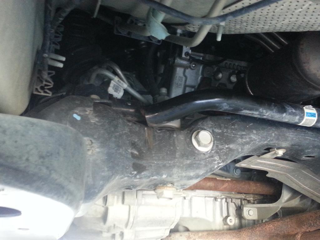 2009 Chevrolet Traverse Broken Sway Bar/Strut