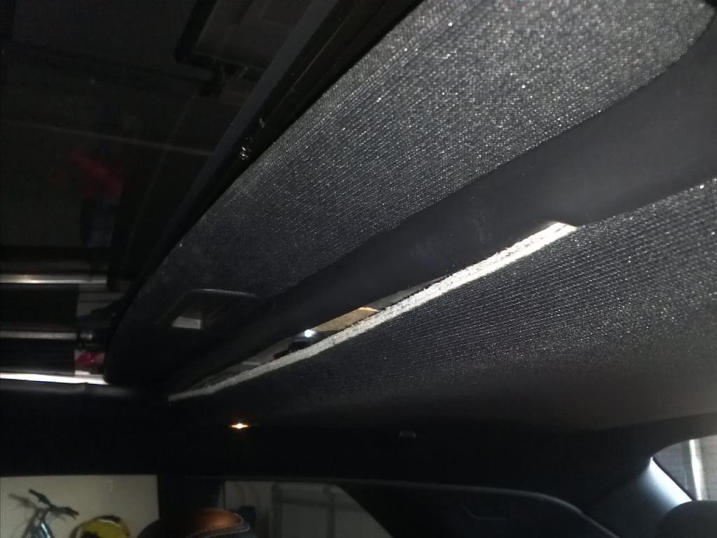 Ceiling Of Car Falling Down