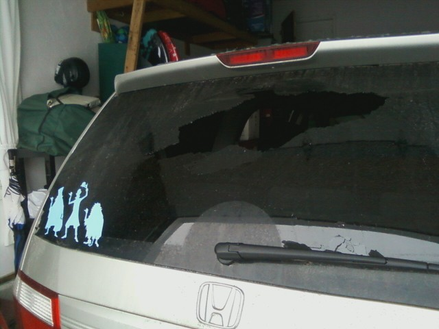 2007 Honda Odyssey Rear Window Exploded: 10 Complaints