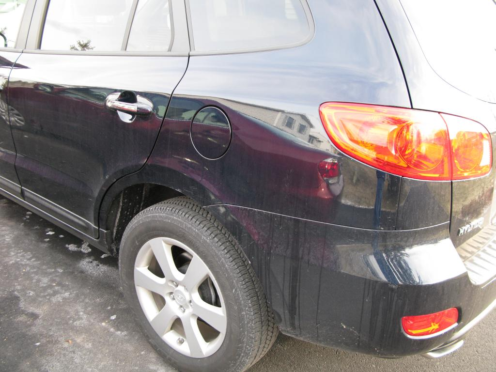 2007 hyundai santa fe rust on dual exhaust tips 1 complaints. Black Bedroom Furniture Sets. Home Design Ideas