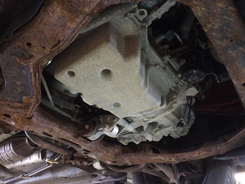 2010 Mazda MAZDA6 Rusted Engine Cradle: 1 Complaints