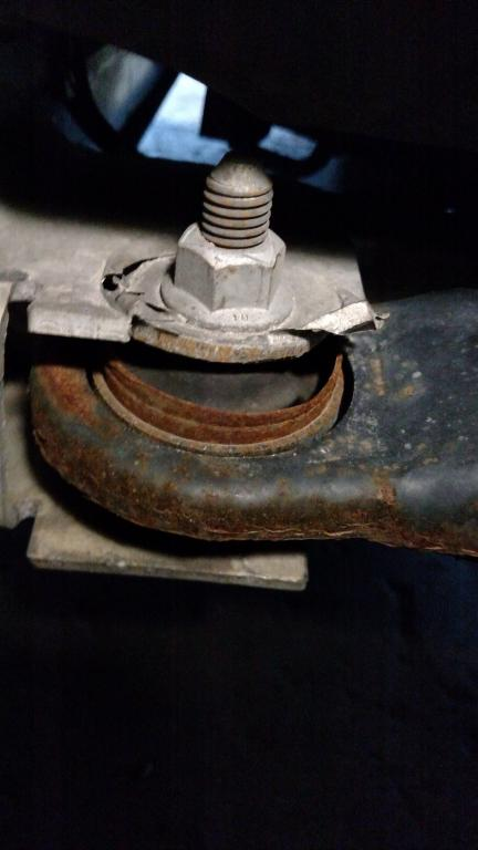 2011 chevrolet impala control arm mounts broke off frame 1 complaints. Black Bedroom Furniture Sets. Home Design Ideas