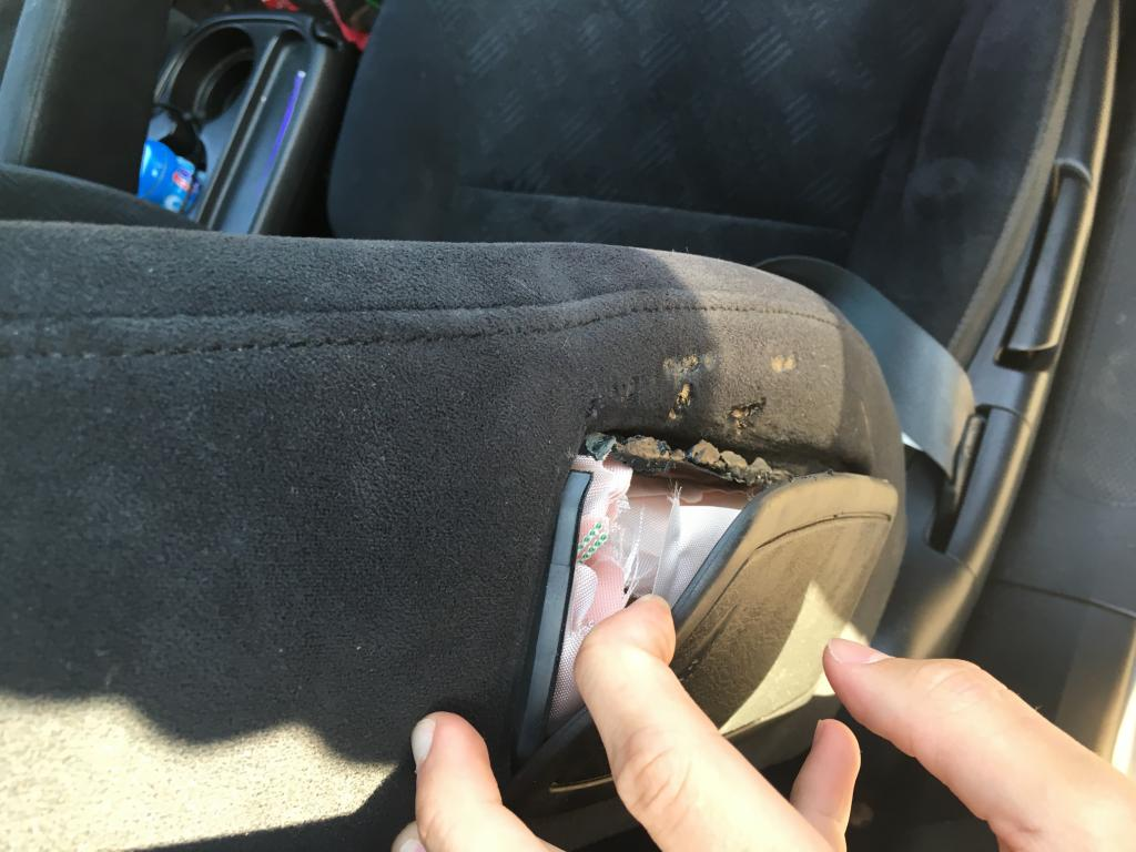 2005 Honda CR-V Missing Air Bag: 1 Complaints