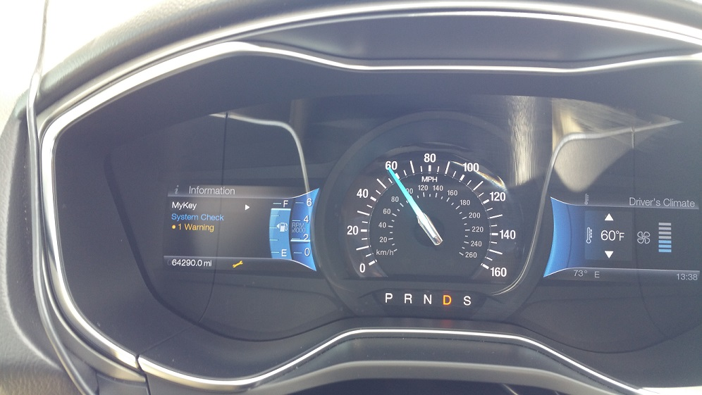 2013 Ford Fusion Wrench Warning Light On Carcomplaints Com