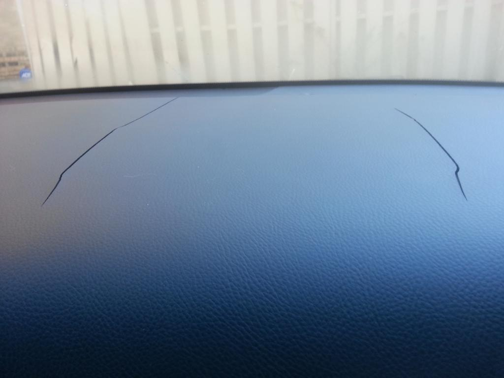 Acura TL Cracked Dashboard Complaints - Acura tl 2004 dashboard