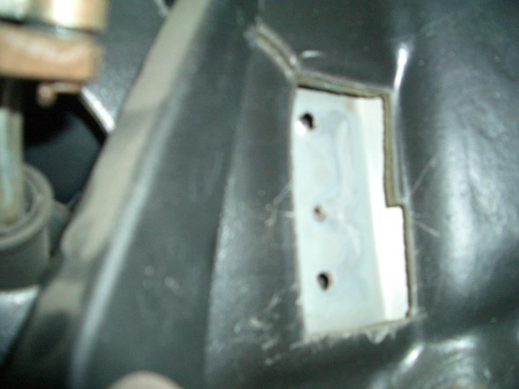 1998 Ford Explorer Accelerator Pedal Bracket Spot Welds ...