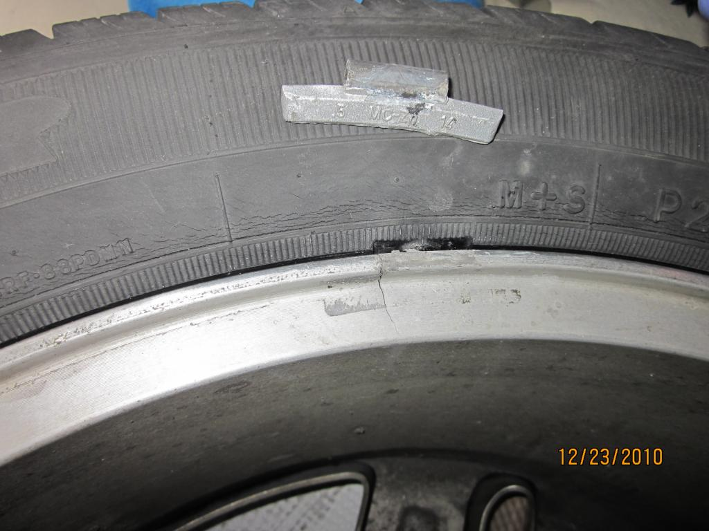 2008 Dodge Nitro Aluminum Rim Cracked 1 Complaints